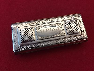 Vintage Koch Harmonica Alpina Double Sided