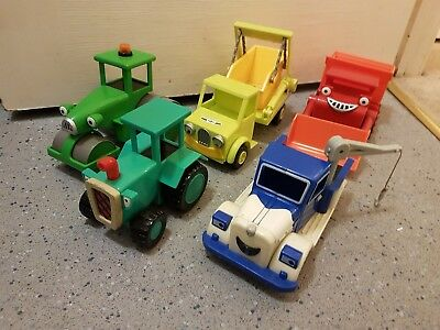 bob the builder 5 toy bundle used
