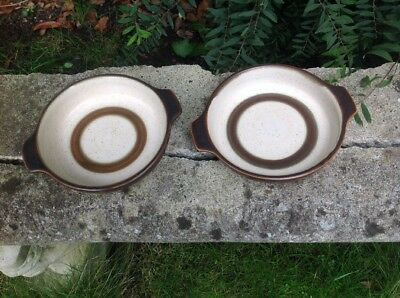 Denby potters wheel lug handles oven dishes small