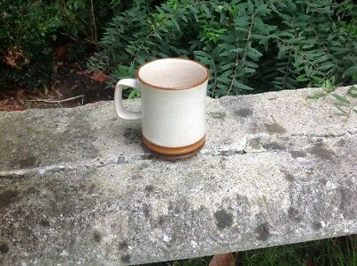 "Denby Potters Wheel mug 4"" tall"