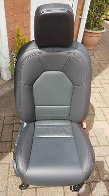Genuine MG3 car driver side leather seat in mint condition bargain buy
