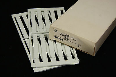 Allen Bradley 1492-SM6X9 Snap In Marker Cards for 1492 Terminal Blocks 2 Sheets