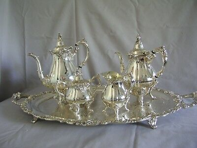 BAROQUE by WALLACE TEA or COFFEE SET