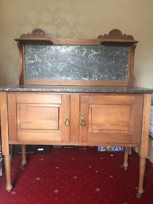 Beautiful Victorian Marble Topped Wash Stand