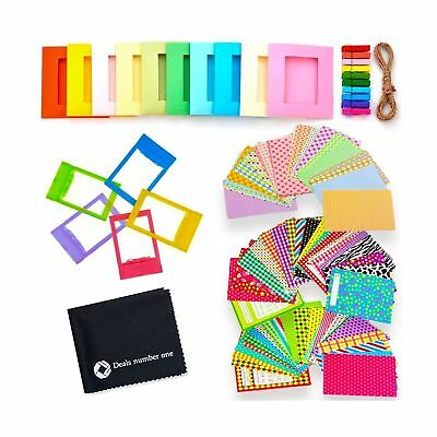 5 in 1 Colorful Bundle Kit Accessories for Fujifilm Instax Mini 9/8 Camera - ...