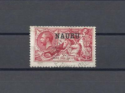 NAURU 1916-23 SG 22 USED Cat £150