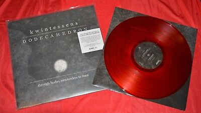 Dodecahedron - Kwintessens //RED LP ONLY 100 pcs.// deathspell omega katharsis