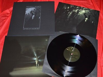 WHITE WARD - Futility Report /LP Only 66 pcs. wolves in the throne room drudkh