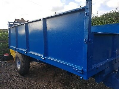 tipping trailer new bed
