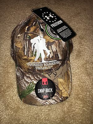 599c9c90100 ... greece under armour wounded warrior project realtree camo snap back cap  hat nwt 8da00 53c72 ...
