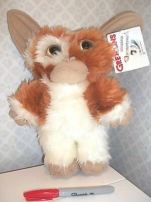 "BNWT 12"" PMS Warner Bros GIZMO GREMLINS retro soft toy plush NEW"