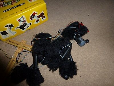 Pelham Puppets Poodle The dog boxed with instructions