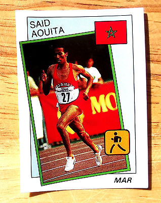 Panini Supersport No 5 Athletics Said Aouita Very Good Condition Card