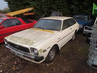 1979 Rare Toyota Corolla Lift Back 1 Owner & 17K From New Barn Find No Reserve !
