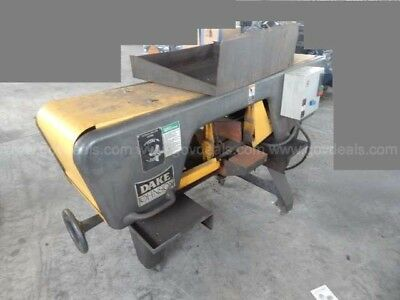 Dake Johnson Horizontal Band Saw Jh10