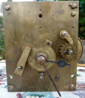 Antique Fusee Early Pinned Movement