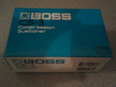 KEELEY MODDED Boss CS-3 Compression Sustainer Compressor Guitar Effect Pedal