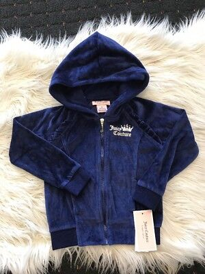 New Girl Navy Blue Juicy Couture Jumper Size 3T And 5T
