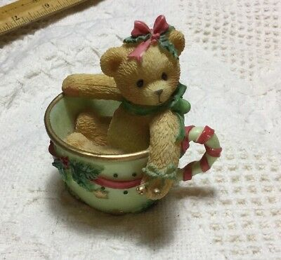 "CHERISHED TEDDIES Christmas 1997– Jean ""Cup Full of Peace""  Priscilla Hillman"
