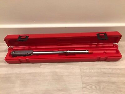 Britool Model AVT300 3/8 Adjustable Torque Wrench