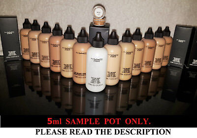 MAC Face and Body Foundation SAMPLE POT 5ML.💚OVER 3000 SOLD💚Free fast shipping