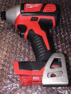 Milwaukee M18 18-Volt 1/4 in. Cordless Hex Impact Driver Tool-Only {2656-20}