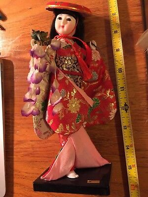 VINTAGE Traditional  Chinese Doll