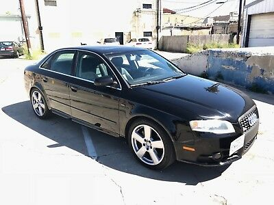 2006 Audi A4 6 Speed S-Line Sport Pkg Quattro 2006 Audi A4 QUATTRO S Line / LOW MILES / ONE OWNER / CLEAR CARFAX