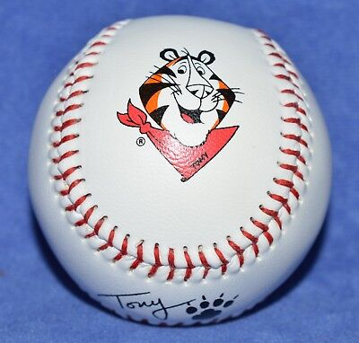Vintage Original 1990'S Kellogg'S Cereal Tony The Tiger Signed Baseball – New