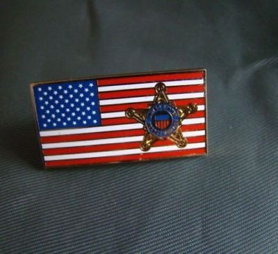 Us United States Secret Service Metal Chest Lapel Usss Pin Badge