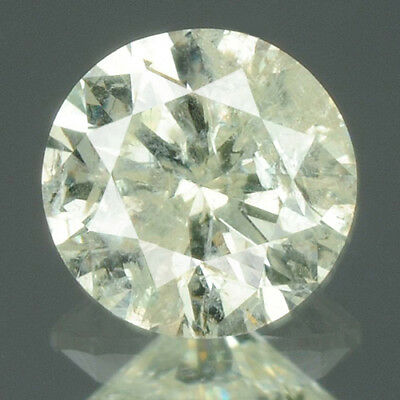 0.19 cts. CERTIFIED Round Brilliant Cut White-L Color Loose Natural Diamond 9151