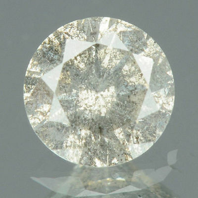 0.37 cts. CERTIFIED Round Brilliant Fancy Gray Color Loose Natural Diamonds 7854