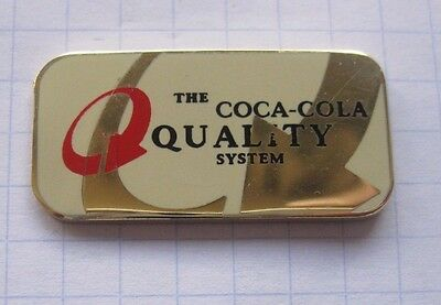 THE COCA-COLA QUALITY SYSTEM .............................Pin (144f)