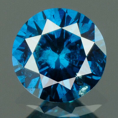 0.24 cts BUY CERTIFIED Round Brilliant Cut Blue Color Loose Natural Diamond 9222