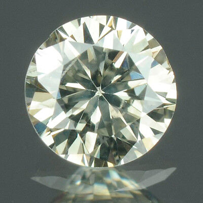 0.17 cts. CERTIFIED Round Cut SI2 Faint Yellow Color Loose Natural Diamonds 7625