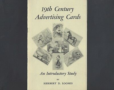 Booklet of 19th Century Advertising Cards-An Introductory Study