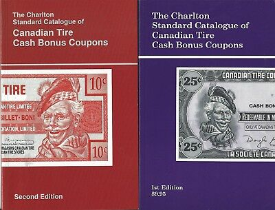 The Canadian Tire Cash Bonus Coupons Catalogues-1st & 2nd Editions 1991 & 1994