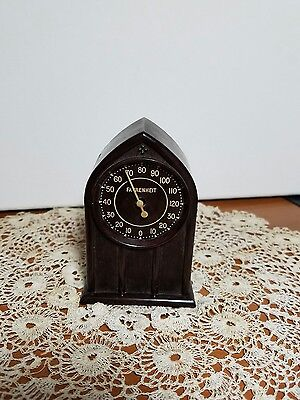 Thermo Clock House Hold Weather Thermometer.Springfield, Ohio