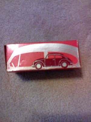 Vintage AVON Collectible Volkswagen Beetle after shave bottle full in box Sports