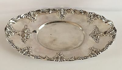 Vintage Reed & Barton 6000 Renaissance SilverPlated Tray- Fast Ship!