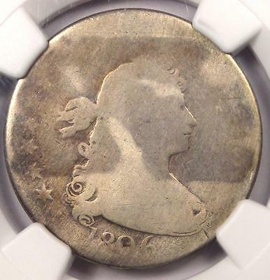 1806 Draped Bust Quarter 25C - NGC AG Details - Rare Early Certified Coin!