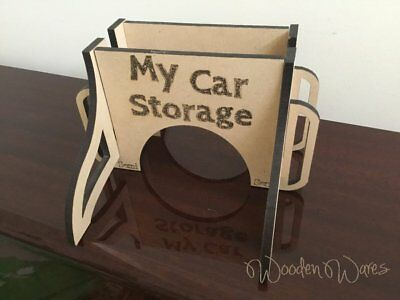WoodenWares Vehicle Stands - Semi Matchbox Hot Wheels Model Car Storage Display