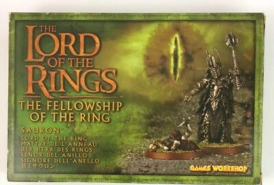 Games Workshop Lord of the Rings Sauron Fellowship of the Ring