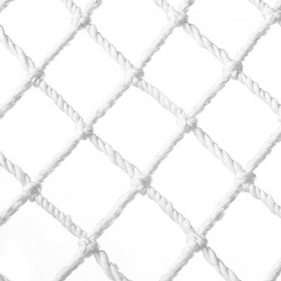 White Cargo Rope Outdoor Play Climbing Frame Safety Mesh Natural Net Shipfrom AU