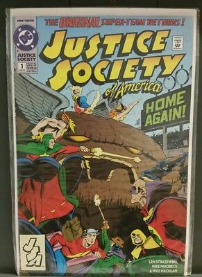 1992 Justice Society Of America 1St Jesse Quick Flash Tv Show Nm