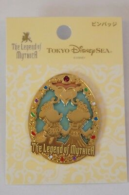 Tokyo Disney Resort Pin TDS Harbor Show The Legend Of Mythica Mickey Minnie