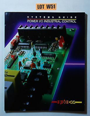 OPTO 22 Systems Guide POWER I/O INDUSTRIAL CONTROL EQUIPMENT CATALOG OPTOMUX W51