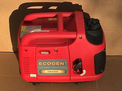 ECOGEN 1000 Watt Inverter Generator - Quiet, Save Gas, Free Ship to Puerto Rico