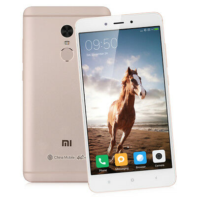 "5,5"" XIAOMI Redmi Note 4 HelioX20 DecaCore 64GO 13MP 4G Cellulare Global 4100mAh"