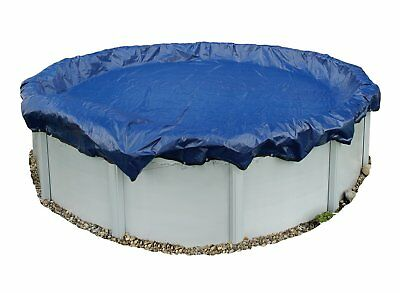 Winter Pool Cover Above Ground 24 Ft Round Arctic Armor 15 Yr Warranty w/ Clips